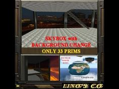 #skybox with background change box for #secondlife or #opensim
