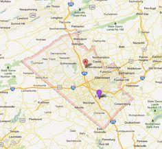 Map Of Pennsylvania Counties Jim Thorpe Pinterest - Pennsylvania county map usa
