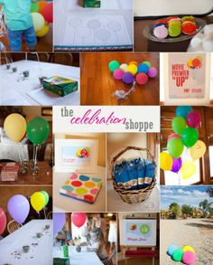 Up themed birthday party from The Celebration Shoppe