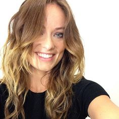 Olivia Wilde took a selfie before making an appearance on Good ...