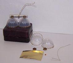 Miniaturas y casas de muñecas: Tutorial lampara