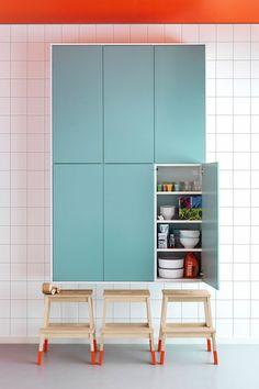Rubrik Ikea Kitchen Shelves - Small Kitchen, Living Room Design Ideas (houseandgarden.co.uk)