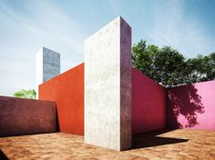 """Inspiration: Luis Barragan - The House of Colors 