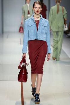 Trussardi Spring 2015 Ready-to-Wear Fashion Show: Complete Collection - Style.com