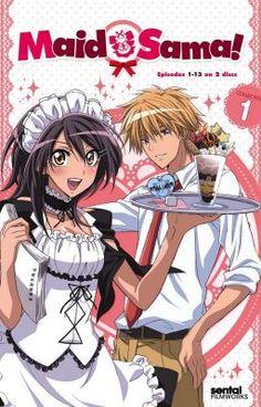 Maid Sama Manga, Anime Maid, Anime Titles, Anime Characters, Manga Box Sets, Streaming Anime, Japanese Poster Design, Manga Books, Kaichou Wa Maid Sama