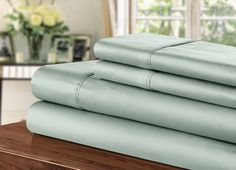 Chic Home 1000 Thread Count Sheet Set, King, Sage