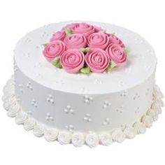 The Ribbon Rose Rendezvous Cake combines 5 popular techniques covered in Wilton Method Cake Decorating Class 1: Decorating Basics. Surprise someone special with a cake!