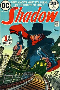"""One of the hightlights of the book was chatting with Denny O'Neil, writer of (among many other classics) one of my favorite series, the 1973-75 DC version of """"The Shadow."""""""