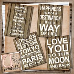 U printables by RebeccaB