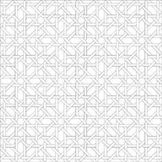 GERARDO DELGADO. Dibujos del análisis de estructuras superpuestas. Diseño de alicatado hispanomusulmán, modelo 1, 1973-86. Vídeo, color, sin sonido. 15' 51''