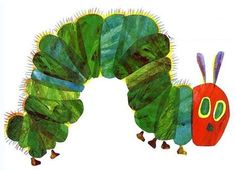 The Very Hungry Caterpillar. Love this book!