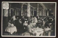 Dining Room, Hotel Miramar, Macuto. Venezuela.