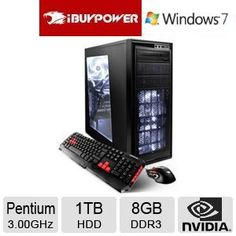iBUYPOWER TD740 8GB 1TB GeForce GT610 Gaming PC