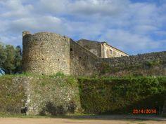 Castelo em Barbacena, Elvas, Alentejo, Portugal