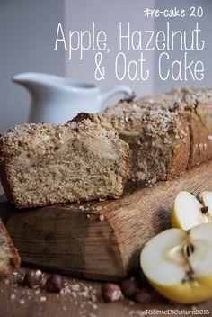 Ricette di Cultura: Torta soffice di mele, nocciole e avena per Re-Cake 2.0