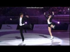 Mesmerizing how they move <3 #tessavirtue #scottmoir AOI 2014 Guangzhou - Tessa Virtue and Scott Moir EX Top Hats & Tails