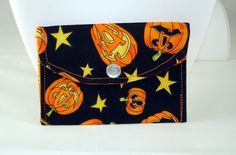 HALLOWEEN Credit/Gift Card WALLET by aModernMomm on Etsy, $4.00