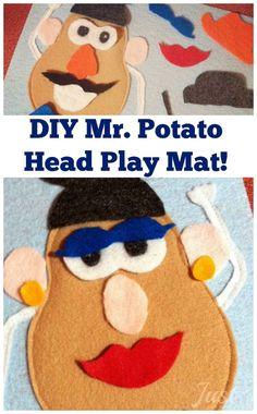 free mr potato head patterns and templates - Google Search ...