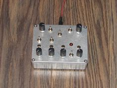 Particle Smasher with CV ins // Noise Device / Synth / Sound Generator // signal processor // effect unit // Electro Lobotomy ( pre order )
