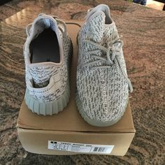 Yeezy boost 350 moonrock Brand new, size 6.5 (fits size 6-7). Not authentic. No trades. Comes with a box. Adidas Shoes Sneakers