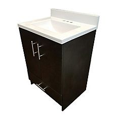 Keep it simple: crisp, clean lines add elegance to any bath. Our Cali ensemble is deal for smaller bath and powder rooms with plenty of interior storage. Cultured Marble Vanity Tops, Bathroom Renos, Bathroom Vanities, Bathroom Ideas, Artificial Stone, Wall Mounted Vanity, Engineered Stone, Modern Vanity, Particle Board