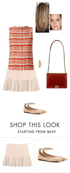 """Sem título #7499"" by gracebeckett on Polyvore featuring moda, Gérard Darel, Gianvito Rossi, Chanel e Rolex"