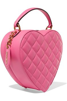 Shop on-sale Moschino Crystal-embellished quilted leather clutch. Browse other discount designer Clutch Bags & more on The Most Fashionable Fashion Outlet, THE OUTNET.COM