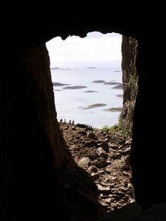 "Hiking through the ""hole"" inTorghatten Mountain near Brønnøysund, #Norway http://www.travelingwiththejones.com/2011/10/05/destination-discovery-torghatten-mountain-near-bronnoysund-norway/"