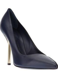 VIONNET metallic heel pump $628.58