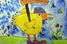 Rainy Day Ducks - grade 1