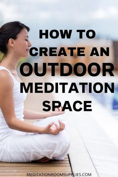 How to create an outdoor meditation space. Love to meditate? Then you are going to love being in nature meditating! Outdoor Meditation Space , zen gardens backyard, outdoor meditation space, outdoor meditation space zen, backyard meditation garden, meditation space ideas #meditation #homedecor #patio #outdoor #patio
