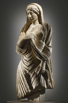 Roman Statue, 1st-2nd Century AD, via TheAncientWorld.