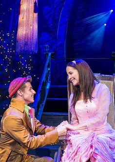 WICKED - Daniel Hope (Boq) and Katie Rowley Jones (Nessarose). Photo by Matt Crockett. #wicked #danielhope #katierowley