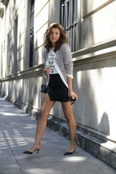 grey outfits for fall