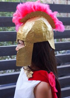 Cardboard, newspaper, flour and water. Turtle Costumes, Pirate Halloween Costumes, Couple Halloween Costumes For Adults, Costumes For Teens, Couple Costumes, Adult Costumes, Greek God Costume, Greek Goddess Costume, Greek Costumes