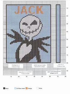 Jack Skellington notebook cover