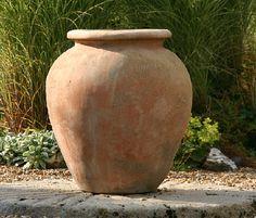 Italian Terrace terracotta pots, planters, oil jars & plaques
