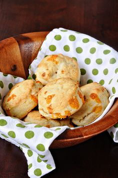 Cheddar cheese biscuits. Paige missed these biscuits at the crop because she was spending the weekend with her son, Randy. But never fear, DeeAnn whipped her up a batch and had them waiting for her on her return.