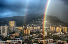 Double Rainbow Photograph  - Double Rainbow Fine Art Print   HAWAII