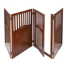 Elegant Home Fashions PET-93 Cheesy Convertible 4-Panel Dog Gate