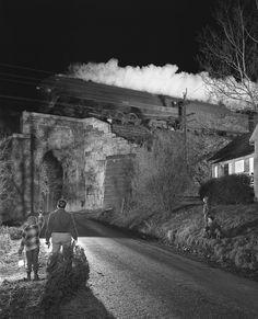 Les trains de nuit de Winston Link winston link train nuit 03 photo photographie histoire art