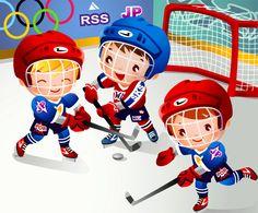 Children's hockey cartoons vector Kids Curtains, Clip Art, Sports Art, Olympic Games, Graphic Design Art, Vector Art, Art For Kids, Kids Fun, Childrens Books