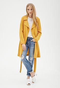 Maxi Wrap Coat | Forever 21 Canada