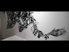 Cloud Leopard (2012) Paper Cut Art -- Official Video -- Nahoko Kojima - YouTube