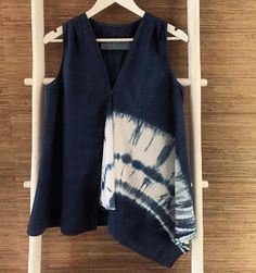 Shibori top by Jane Postle