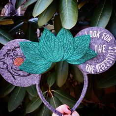 Check out this item in my Etsy shop https://www.etsy.com/listing/570996570/jungle-book-baloo-bare-necessities
