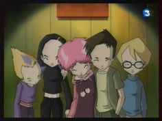 The group from Code Lyoko