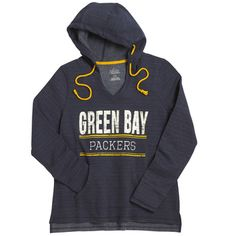 Packers Women's Classic Swift Play Hoodie at the Packers Pro Shop http://www.packersproshop.com/sku/5109023015/