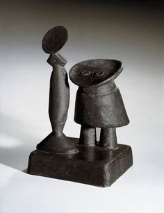 Max Ernst: Daughter and Mother, 1959 - bronze