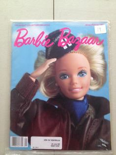 Barbie Bazaar January February 1991 Magazine Doll Book Winter Sealed
